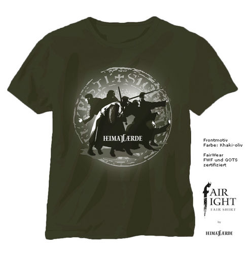 FairFight T-Shirt Motiv Brueder